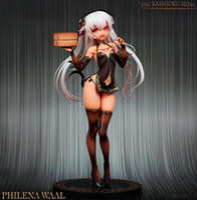 Hobby Japan Amakuni Dai Kasshoku Jidai Phiena Waal PVC Action Figure Anime Sexy Mädchenfigur Modell Spielzeug Sammlung Puppe Geschenk