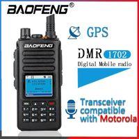 2021 Baofeng DMR GPS Walkie Talkie Time Slot DMR Digitale / Elangloge ترقية Van DM-1801 DM-1701 DM-1702 Radio1
