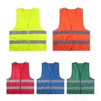 Emniyet Yelek Yüksek Görünürlük Yansıtıcı Çizgili Trafik Yelek İnşaat Sanayi Trafik Sanitasyon İşçi Yansıtıcı Giyim DWB2150