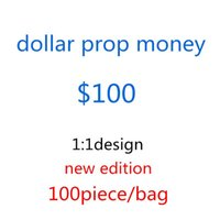 Children's 100 Toys Normal USD Prop Play Creative Bags-f12 Money Dollar Banknote Fake Size Gift Movie Money Money Banknote Mqgjv