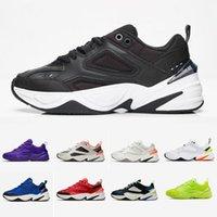 클래식 블랙 화이트 Monarch M2K Tekno 패션 아빠 신발 Monarch 4 디자이너 Zapatillas 실행 신발 남성 여성 클래식 스니커즈 Des Unisex