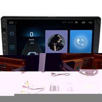 Giocatori MP4 10.1 pollici Android 8.1 Quad Core 2 DIN Car Press Stereo Radio GPS WiFi Lettore MP5