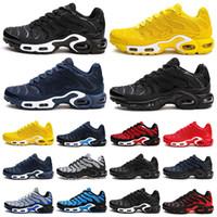 Большой плюс размер 40-47 тн кроссовки для мужчин дышащий TN KPU Chaussure белые черные спортивные спортивные кроссовки спортивные тренажеры B-133
