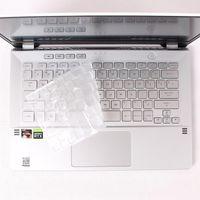 Tastaturabdeckungen für ASUS ROG Zephyrus G14 GA401 GA401II GA401IV GA401IU 14-Zoll-Gaming-Notebook-Hohe klare TPU-Abdeckung Hautschutz
