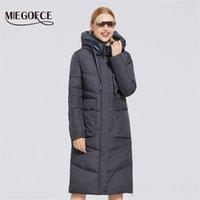 Miegofce kış yeni kadın pamuk ceket orta uzunluk rüzgar geçirmez basit tarzı rüzgar geçirmez ceket kadın parka moda parka 200928
