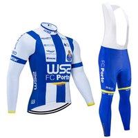 Seconda maglia Ciclismo 2020 Pro Team ws2 Fc Porto Uomini / Donne termico di inverno Pantaloni Fleece Abbigliamento Ciclismo 9d Pad Salopette Set Ropa Ciclismo Inviern