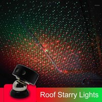 CNSUNNYLIGHT CAR USB Ambiance Ambiance Ambiance Star Ambient Star Light DJ Mixte Coloré Music Sound Voix Control Lamp Spotlight1
