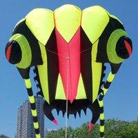 3D 7m² GREEM 1 ligne Stunt Parafoil trilobites Sports Motorisés Cerf-volant jouet en plein air