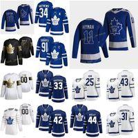 Özel Toronto Maple Leafs Marner Mitchell 16 Matthews Auston 34 Mikheyev Ilya 65 Muzzin Jake 8 Nylander William 88 Erkek Kadın Gençlik Dikişli