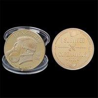 Sobreviví 2020 Copia de Silver Copy Monedas Regalo para amigos Coleccionistas de Familia