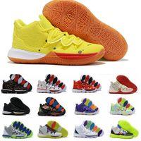 Bonne Arrivée Hommes Kyrie V Vi Mens Basketball Chaussures Irving 6s 6 Garçons Femmes Zoom Sport Sneakers 7-12
