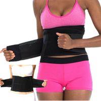 Cintura cinto treinador thermo suor cinto espartilho corset mulheres barriga shapewear modelando gordura cinta estirador de cintura shaper corpo vt1844