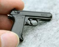"""1/6 مقياس 4d ppk مسدس نموذج الجندي التبعي سلاح بندقية نموذج بسيط لمدة 12 """"عمل الشكل الملحقات مجموعات المشجعين diy"""