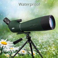 Freeshipping 20-60x80 Zoom Spotting Scope BAK4 Prism MC Lens Birdwatching Hunting Monocular Telescope Spyglass F9308 Waterproof