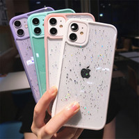 Scintillio Star Paillettes Bling Bling Fashion Designers Case per per iPhone 12 Pro Max Telefono Custodie per iPhone 11 Pro Max XS XR X Antiurto