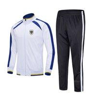 takım elbise açık eğitim Running 20-21 Angers SCO Futbol Kulübü Üst Futbol spor Çocuklar futbol eşofman Erkekler Sportwear setleri