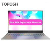 15.6 pollici 8 GB RAM SSD Laptop J4105 Quad Core Netbook portatile Slim Business Office Business Notebook 1080p Studenti Studio PC Computer1