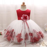 Floral Baby Girl Dress Princess And Wedding Birthday Infant ...