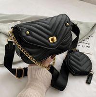 Moda marmont mini bolsa de ombro 446744 mulheres sacos preto cor vermelha mulher bolsas