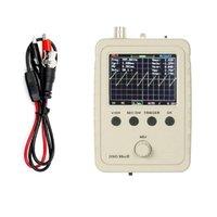 Oscilloskop Portable Mini Digital Oscilloskop Touch Kontaktskärm USB-gränssnitt 2MHz 5MSPS Standard Probe