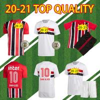 Sao Paulo 2020 2021 Dani Alves Soccer Jerseys Home Away 3ème 20 21 Coutinho Vinicius Butther Shirts de football