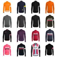 Rapha Team Mens, велосипед с длинным рукавом Джерси MTB велосипедные рубашки Road Racing одежда открытый велосипедные наряды ROPA Ciclismo S122219