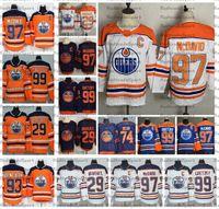2021 عكس ريترو إدمونتون زيترز 97 كونور ماجدافيد 99 وين Gretzky 29 ليون درايسيتل 74 إيثان بير 93 ريان نوجنت هوبكنز الهوكي جيرسي