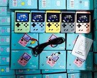 800 في 1 المحمولة المحمولة لعبة فيديو وحدة التحكم الرجعية 8 بت صغير لعبة اللاعبين ألعاب 3 بوصة av مع اللون lcd