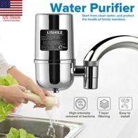 7 Ebenen Keramikhahn Filter Wasser Reinigungsreiniger Reiniger Keramik Aktivkohle für Haushaltsheimhahn Wasserhahn Wasserhahn