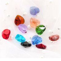 28 unids / lote 14mm Cross Hole Heart Collant Color Colorido Glass Heart Beads Rhinestones para Pendiente Collar DIY Joyería ACC QYLZRQ