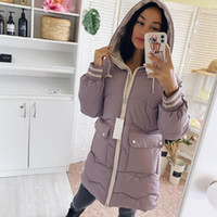 Winter mid- long Women jacket 2020 New Casual thick warm mid-...