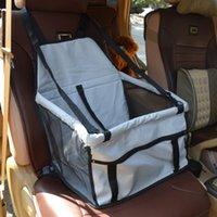 Mise à niveau pliable portable imperméable 40 * 30 * 25 cm OXFORD CAR PANNE PANNE PORTON PORTANT CAGE CAGE DE CAGE POUR LE LITTER DOG CHAT
