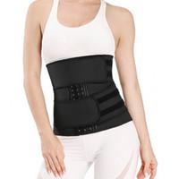 Yianna Double Belt Women Shaper Vita Trainer Zipper e Cinghie Sculpt Latex Workout Formazione Corsetti Belly Sexy Lingerie