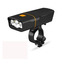 New bicycle- light USB charging front and tail light mountain...