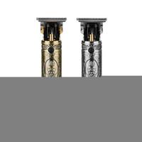 LCD Afficher la lame de tondeuse électrique Tondeuse électrique Tondeuse de rasoir Shafer Shafer sans fil Trimmer 0mm Hommes Barber Cheveux Cuteuse Machine Grossiste