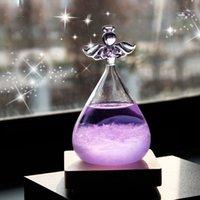 Pequeno Anjo Storm Garrafa Valentines Dia Presentes Previsão do Tempo Garrafa Dia Dos Valentim Decoração de Vidro Decoração Home KKD4251