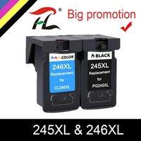 HTL PG245 PG245XL PG245XL PG245 PG 245 XL 245XL cartucce d'inchiostro Remanufactured Pixma IP 2820 MX 492 MG 2520 2924 2920