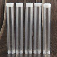 Cartucho de plástico Contenedores Tubo Envases de tubo Claro para cartuchos de vape de aceite de Wickless Abrir Vape Pen 510 Cartuchos PP Embalaje FedEx