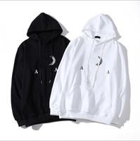 20FW B буквы печатные капюшоны мужчины, горячие продажи мода пуловеры толстовка Homme с капюшоном повседневная женская уличная одежда черная белая