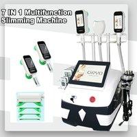 Новый многофункциональный Cryo 360 Beauty Support 40K Ультразвуковая кавитация Криолиполиза Лимополиза Липосукционная машина для похудения.