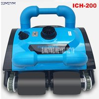 Robot Vacuum Cleaners 20-25L/H Fully Automatic Underwater Swimming Pool Cleaner Cleaning Equipment Est 110V/220V ICH-2001
