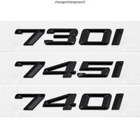 Adesivos para BMW 730i 740i 745i 750i 760i M2 M3 M4 E90 G30 G38 F10 F11 F15 F15 Decoração Do Carro Acessórios Emblema Auto Emblema