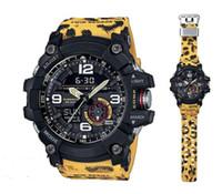 venda quente GG1100 esportes ao ar livre grandes lama rei dos homens relógio LED duplo display relógio eletrônico digital de alta qualidade