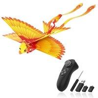 Go Go Go Bird Télécommande Toy Flying Toy Mini RC Hélicoptère Drone-Tech Jouets Smart Bionique Ailes Flying Oiseaux Flying Oiseaux pour enfants Adultes 201221