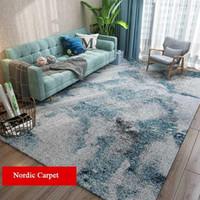 Geometric Ink Drawing Living Room Carpets Nordic Home Bedroom Carpet Bedside Blanket Modern Area Rug Large Teppich Rugs Floor1