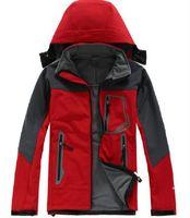 새로운 도착 망 노스 데날리 양털 꼭대기 꼭대기 옥외 방풍 방수 캐주얼 Softshell 따뜻한 얼굴 코트 여성 BGI 크기 - XXL