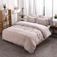 Set di biancheria da letto Nordic Semplice floreale Floral BedClothes Stampa digitale Cover Duvet Set Casa Tessile Adulti confortevoli EU Singola 2021