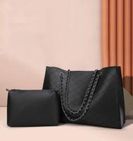 حقيبة HBP مركب حقيبة رسول حقيبة يد محفظة حقيبة مصمم جديد جودة عالية أزياء اثنين في سلسلة واحدة مضللة