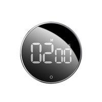 휴대용 마그네틱 LED 디지털 주방 타이머 요리 샤워 연구 스톱워치 전자 알람 시계 카운트 다운 타이머