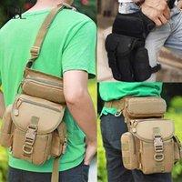 Outdoor Taktische Taille Tasche Drop Bein Bags Werkzeug Fanny Camping Wandern Trekking Schulter Sattel Nylon Multifunktions Pack1